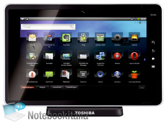 Folio 100 Android Tablet