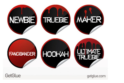 GetGlue TrueBlood Stickers