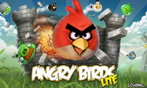 Android AngryBirds Screenshot