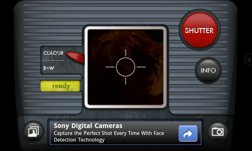 Android RetroCam Screenshot