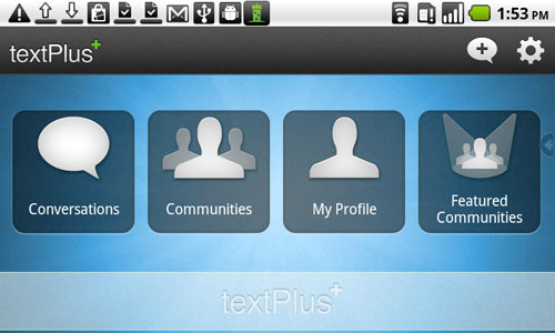 Android TextPlus Screenshot