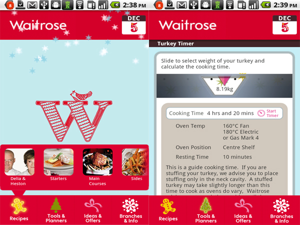 waitrose app