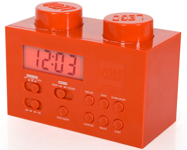 LEGO Brick Clock Radio