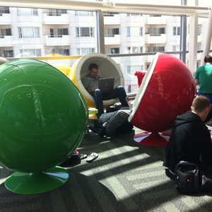Google I/O 2011 - Pod Chairs