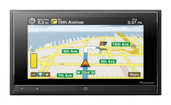 CEA Pioneer AppRadio Review Spotlight In-Dash Audio App Enabled Receiver with Motion X GPS