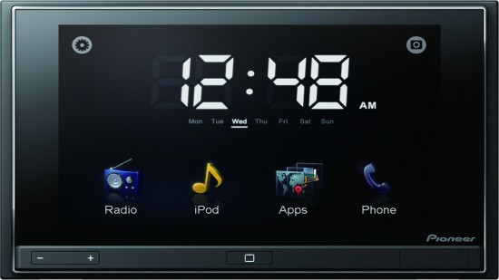 The Pioneer AppRadio with iOS, iPhone 4 and iPod Touch integration with Apps