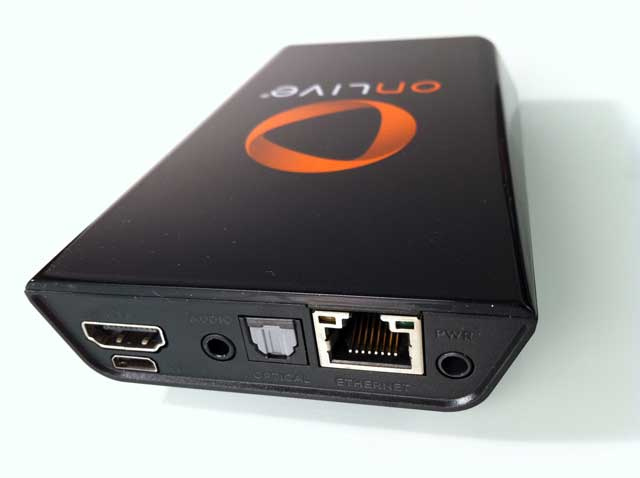 OnLive Game Console - Rear Ports