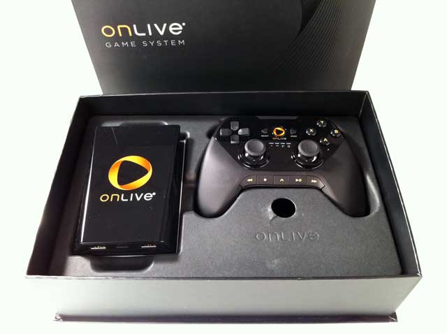 OnLive Game Console in Box