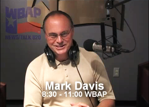 Mark Davis, Host of The Mark Davis Show on WBAP 820 AM