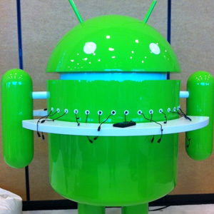 Android recharging station