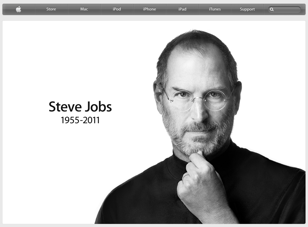 Apple Home Page Steve Jobs Death Ideas For Ways To Make Extra Cash
