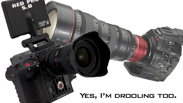 Canon EOS C300 and Red Scarlet X Comparison