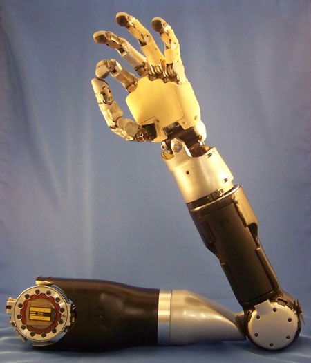 DARPA Funds Better Robotic Prosthesis