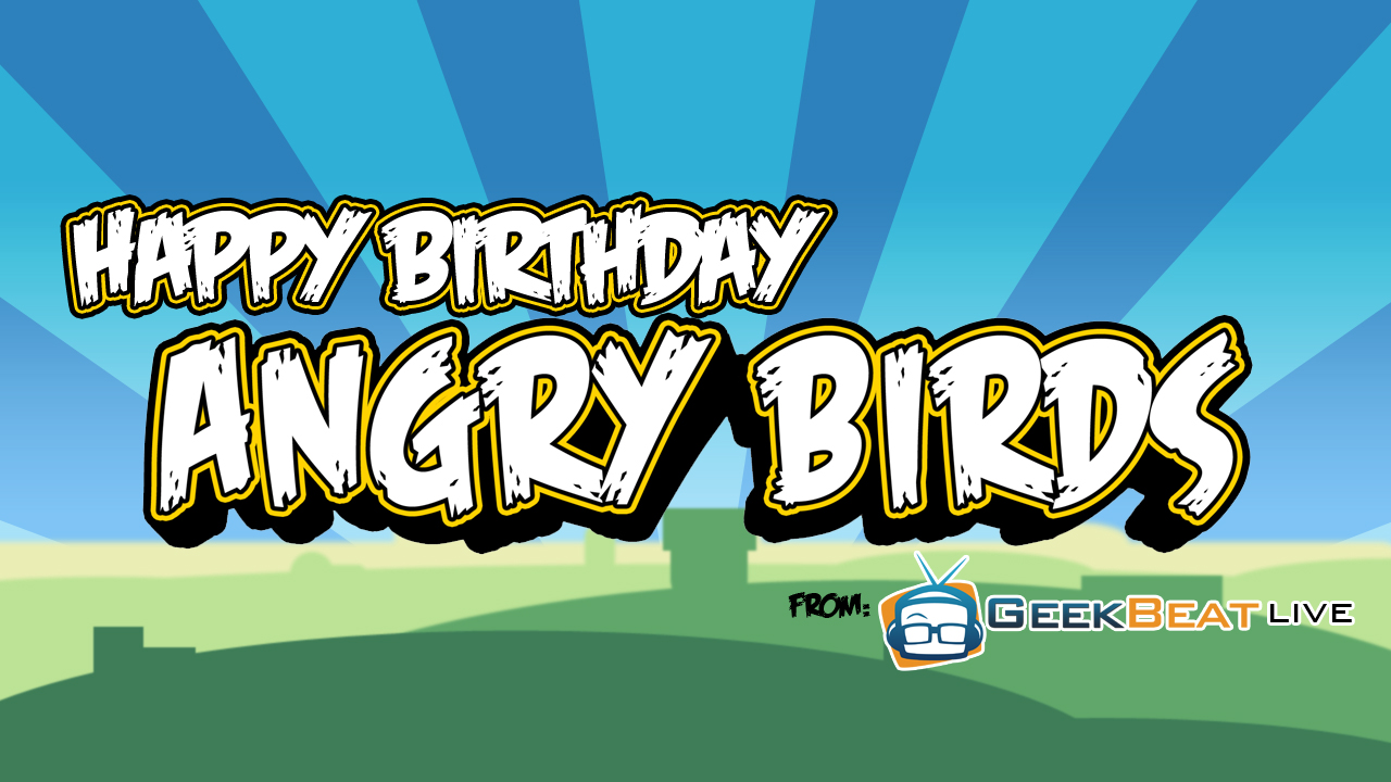 Real Life Happy Birthday Angry Birds
