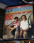 Steve Jobs and Bill Gates on Fortune Magazine