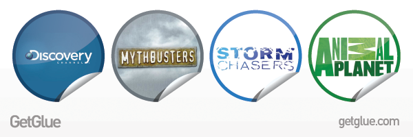 GetGlue Stickers for Discovery Channel