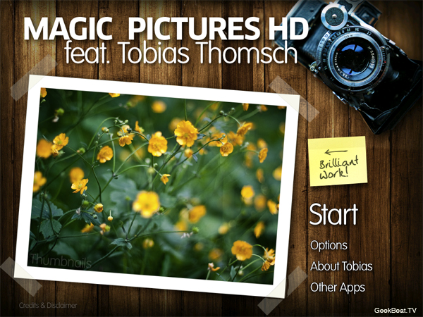 Magic Pictures HD - iPad App