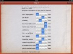 Goal Setting Workshop iPad Screenshot
