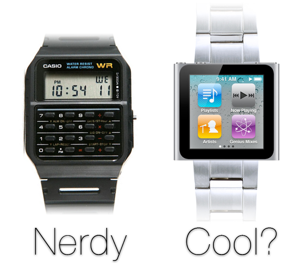 iWatch: Nerdy or Cool?