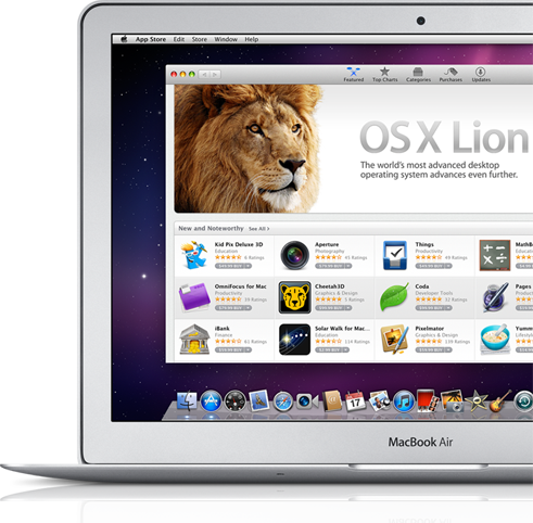 Apple's Promo Image for Lion