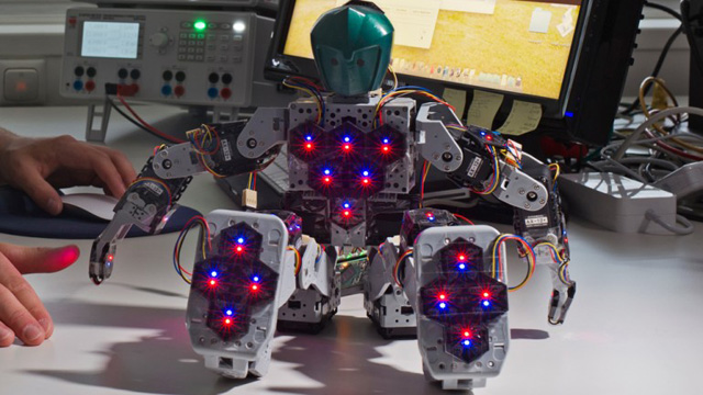 robot with sense of touch