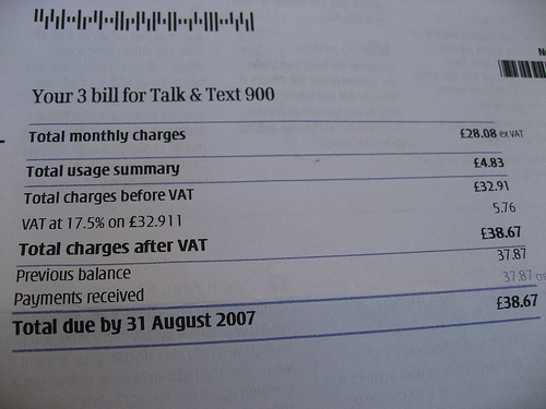 Wireless Bill