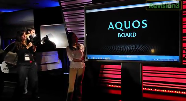 Sharp Aquos Board