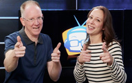 Cali Lewis and John P on GeekBeat Episode 381
