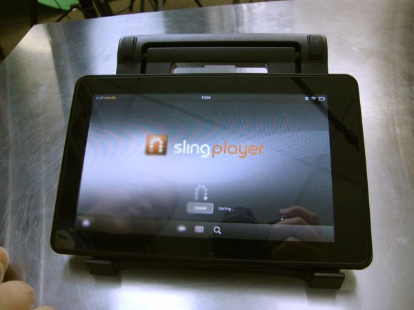 Slingbox on Kindle Fire Loading