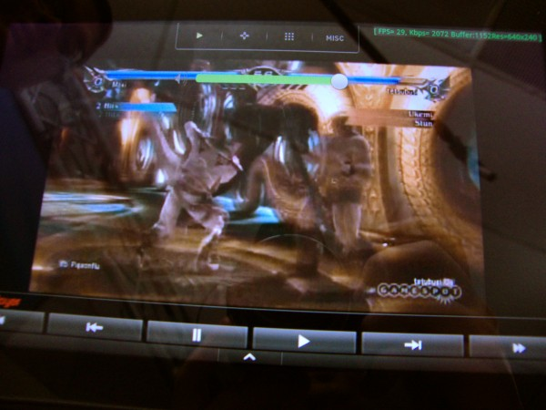 Slingbox on Kindle Fire Running YouTube