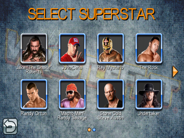 WrestleFest Roster iPad