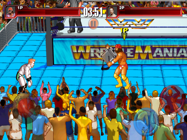 WrestleFest Macho Man Sheamus Match