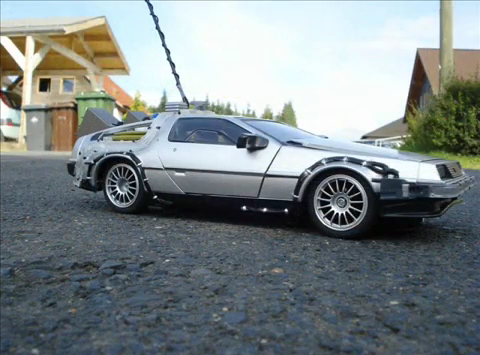 DeLorean RC Build 1