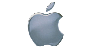 Apple logo thumb