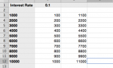 Create Constant Values in Excel