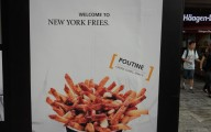 New York Fries Sign