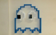 Pac-Man bookshelf - thumb