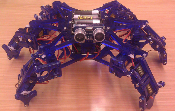 Hexy the Hexapod Robot