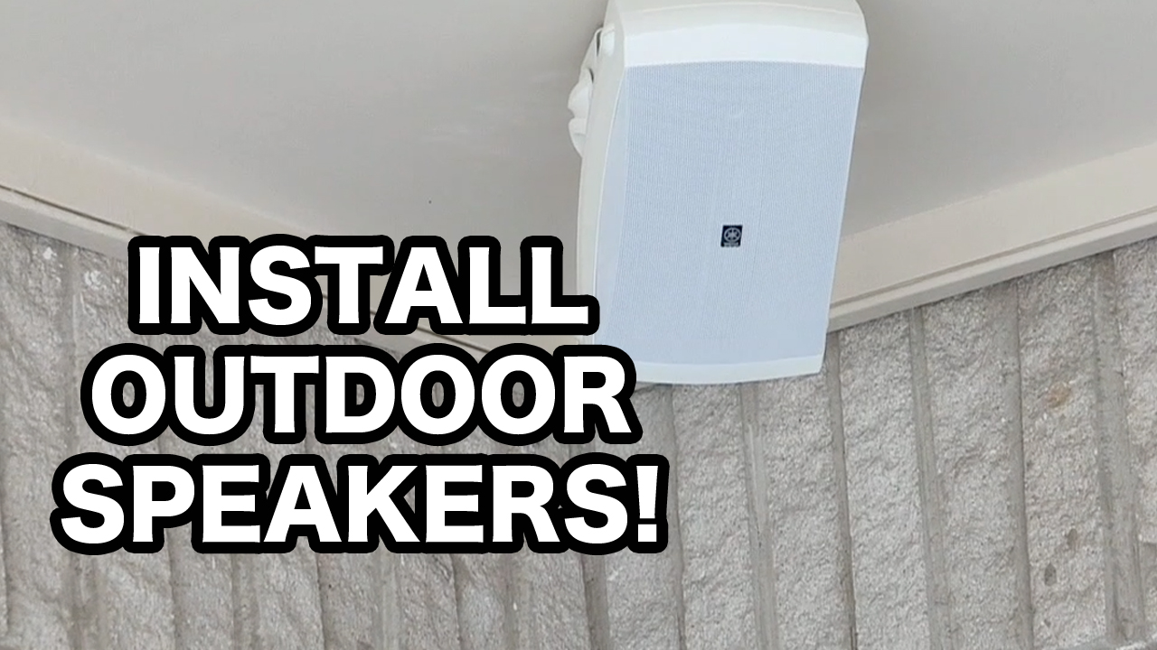 How to Install Yamaha Outdoor Speakers with Sonos PlayAmp