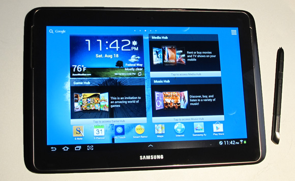 Samsung Galaxy Note 10-1 with Stylus