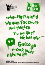 Bad Piggies Facebook Press Release