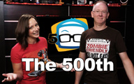 Cali Lewis and John P on GeekBeat Episode 500