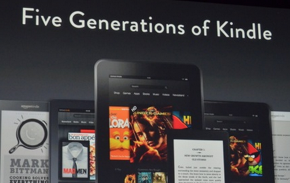 Kindle Announcement 2012
