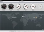 iOS6 iPad Clock