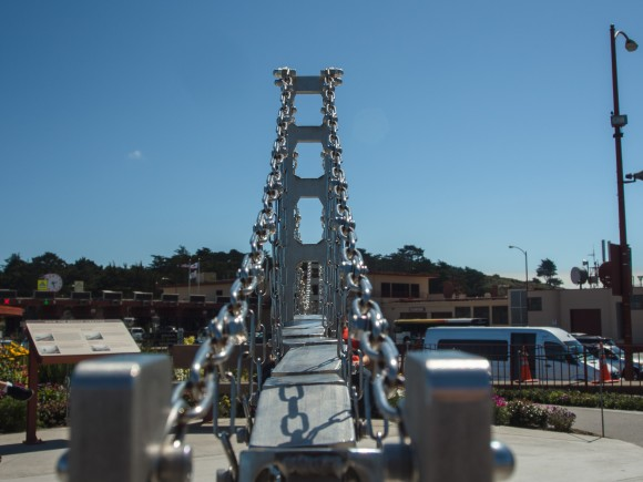 Golden Gate Bridge Model