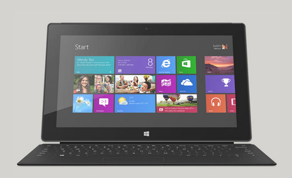Surface with Windows 8 Pro