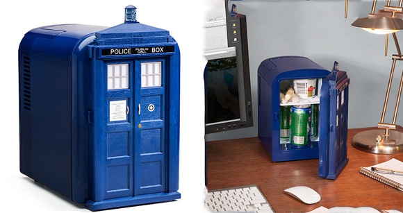 TARDIS Mini Fridge