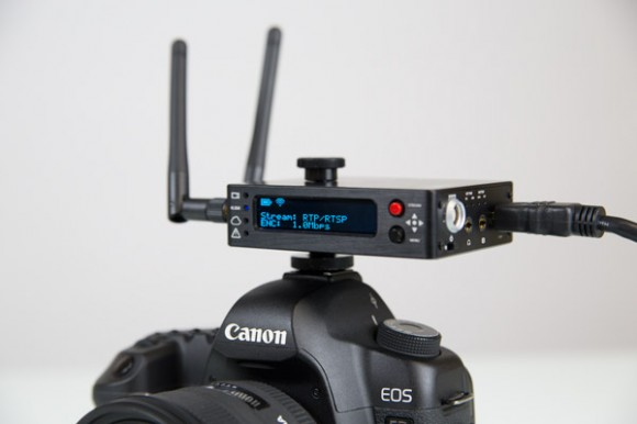 Teradek Cube 255 - Camera Top Close