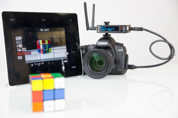 Teradek Cube 255 - iPad