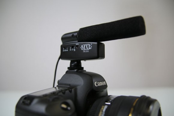 MXL FR-310 - On camera